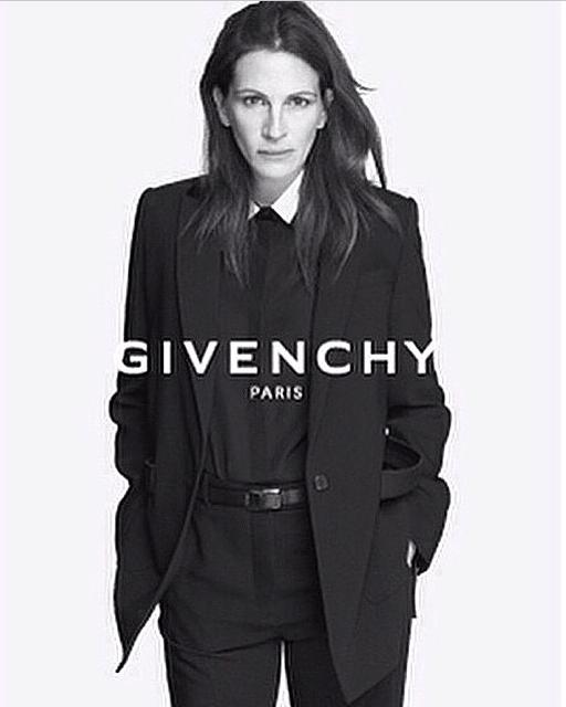 Julia Roberts för Givenchy