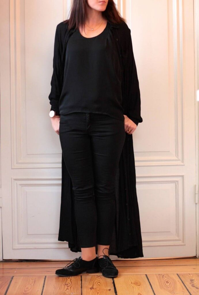 Dagens outfit – Black layering