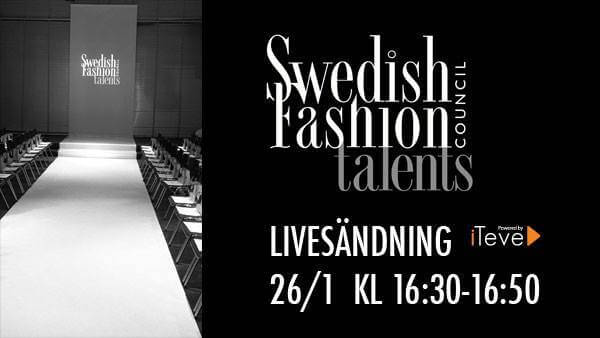 Följ Swedish Fashion Talents Live!