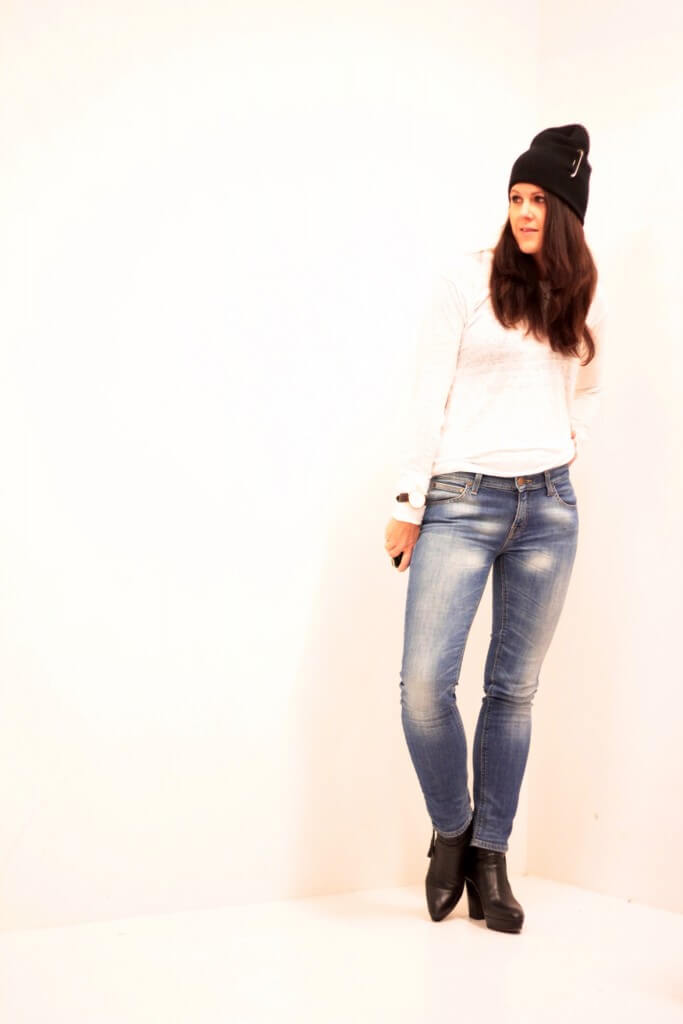 Dagens outfit – Denim och Linne