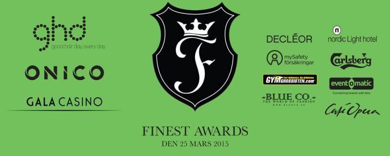 Mingla på Finest Awards!
