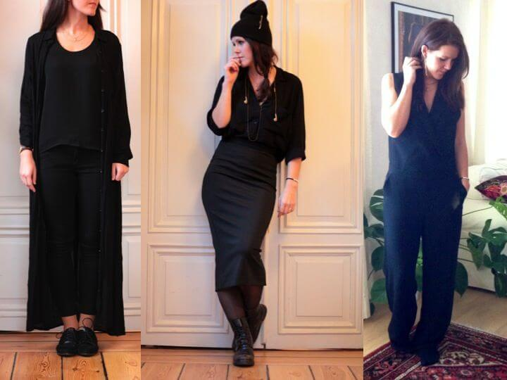 Svarta favoriter – Dagens outfits