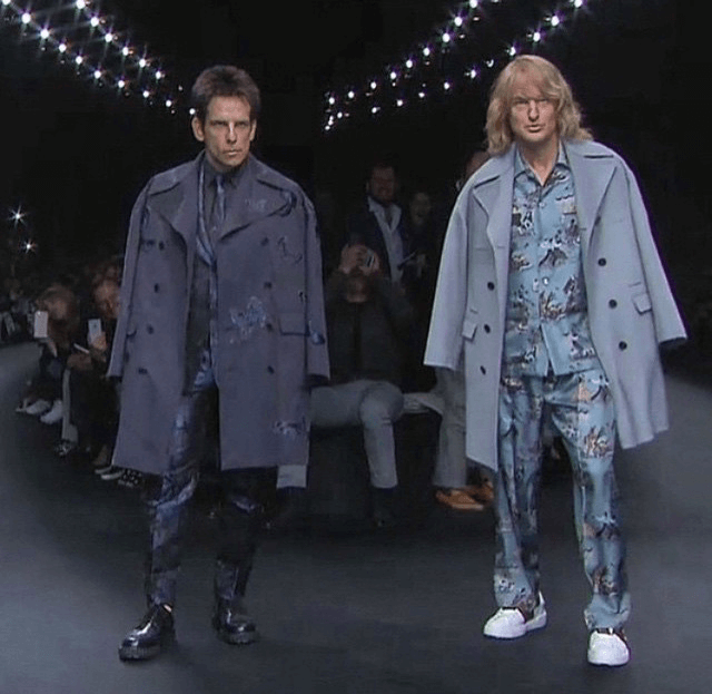Zoolander hits the Valentino catwalk
