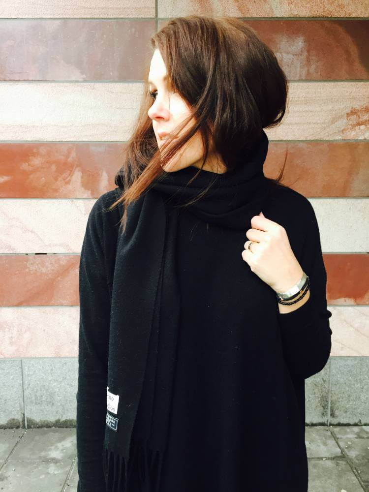 DAGENS OUTFIT BLACK & NUDE Visualisterna