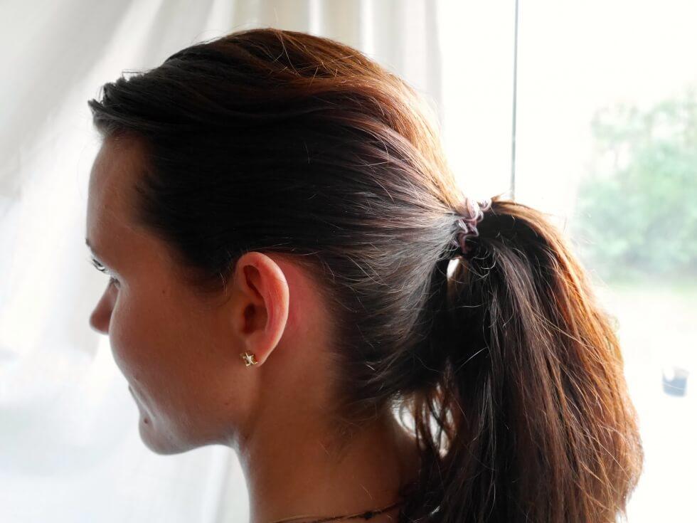 gummisnoddar till håret