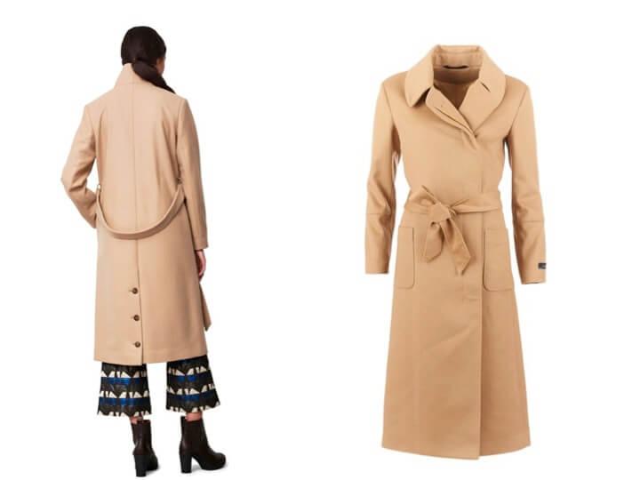 camel coat streetstyle kamelfärgad kappa