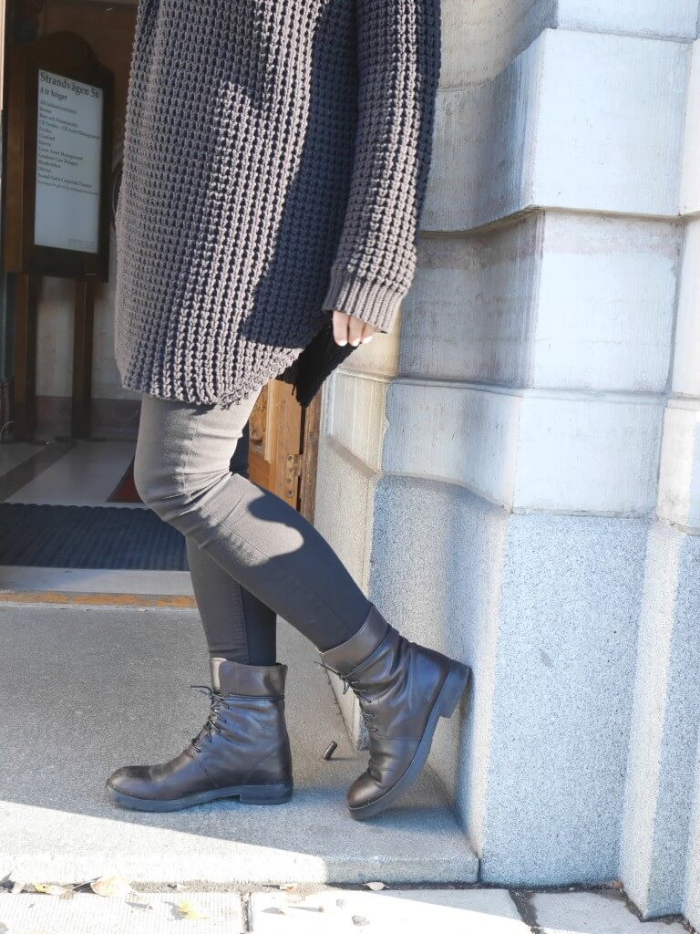 hope field boots grand sweater