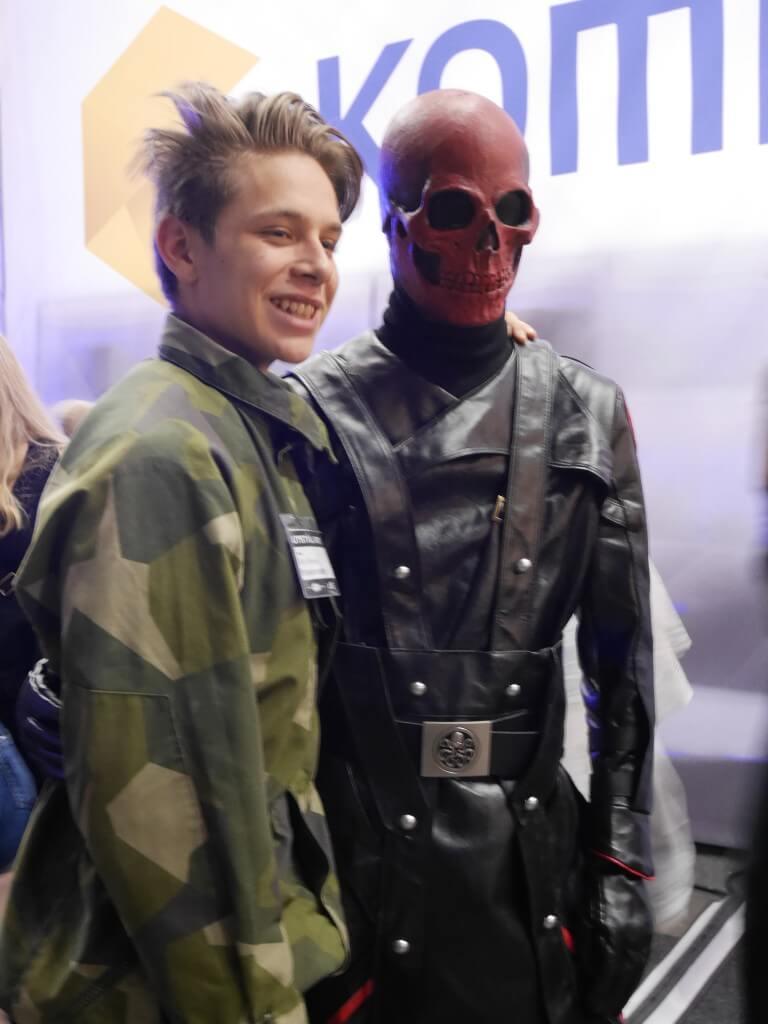 Comic Con Captain America