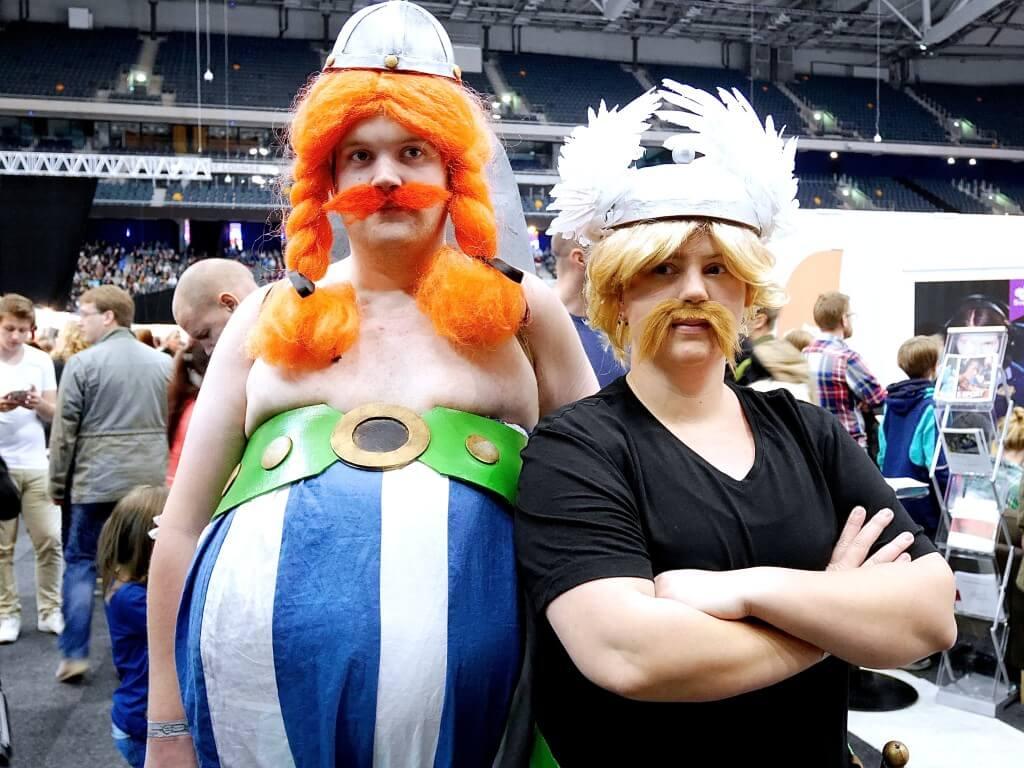 Comic Con Asterix och Obelix