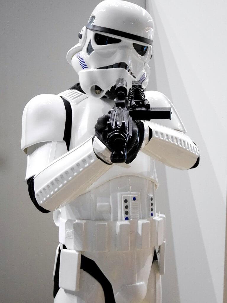 Comic Con stormtrooper