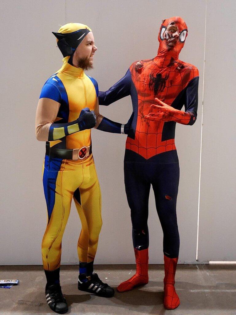 Comic Con spindelmannen spiderman