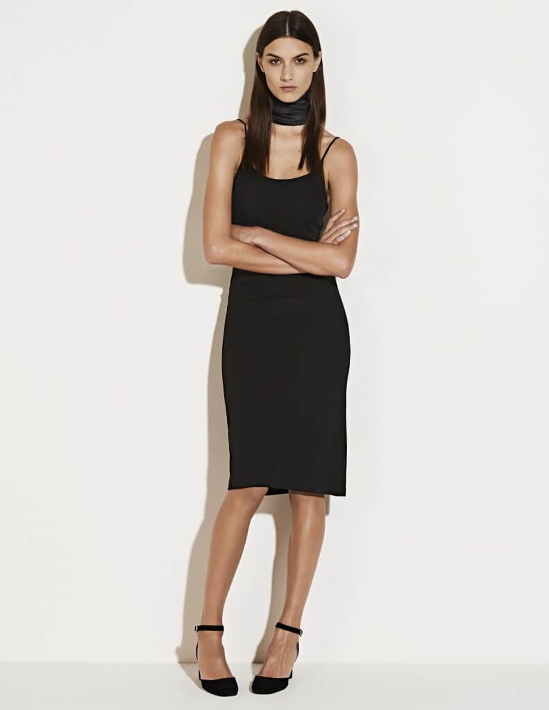 toteme black dress