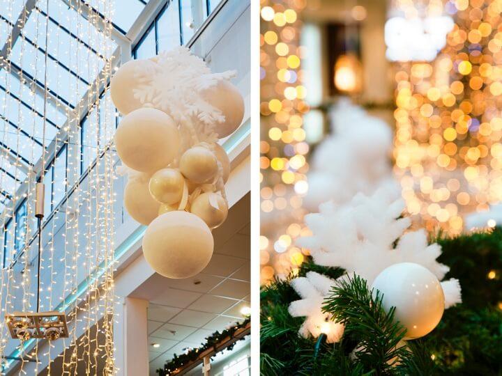 Att jobba som dekoratör visualisterna castor&uggla juldekor