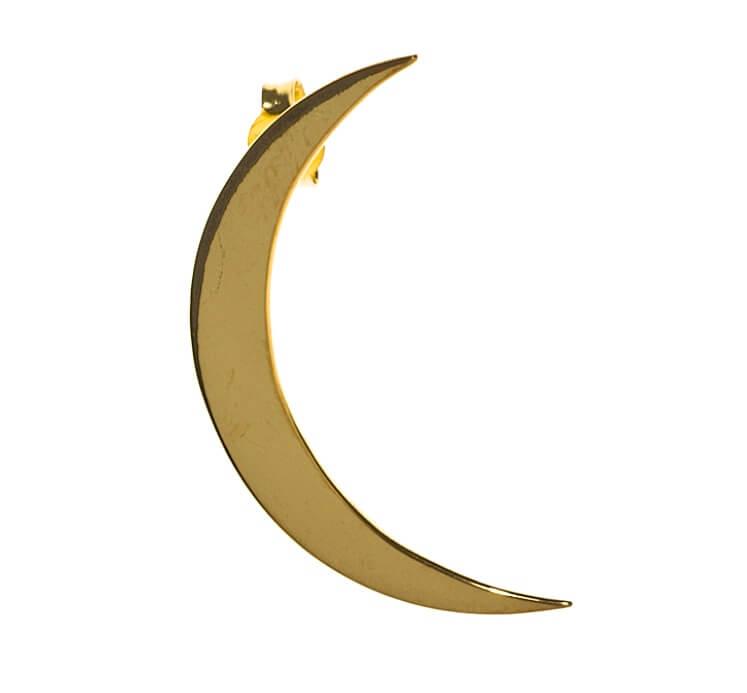 moon earring maria nilsdotter