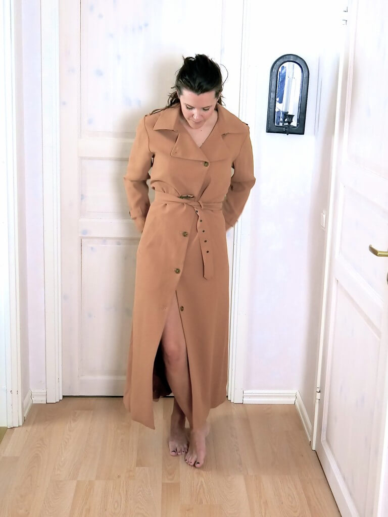 stylein broadway coat tove castor