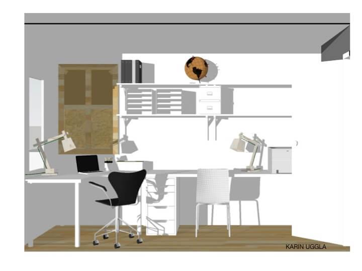 SketchUp Kontor Ugglasfavoriter 3