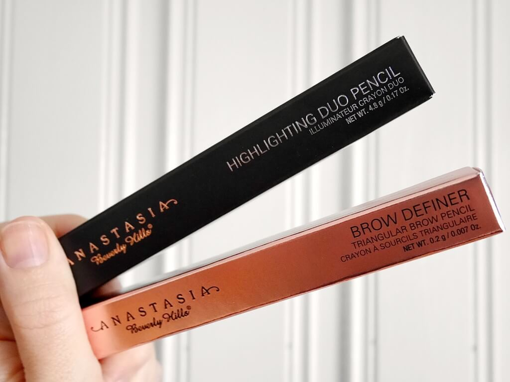 brow definer highlighting duo pencil anastasia beverly hills