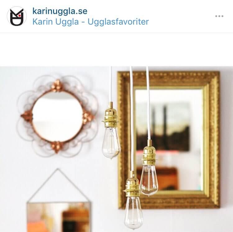 Spegelvägg Ugglasfavoriter
