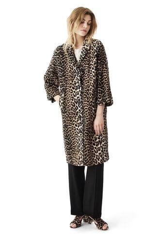 leopard kappa ganni