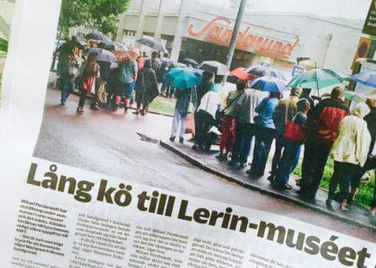 Lars Lerin Sandgrund Karin Uggla