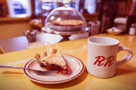 Twin Peaks, körsbärspaj och kaffe
