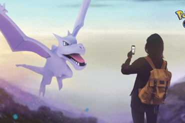 Pokémon Go Adventure Week - Aerodactyl